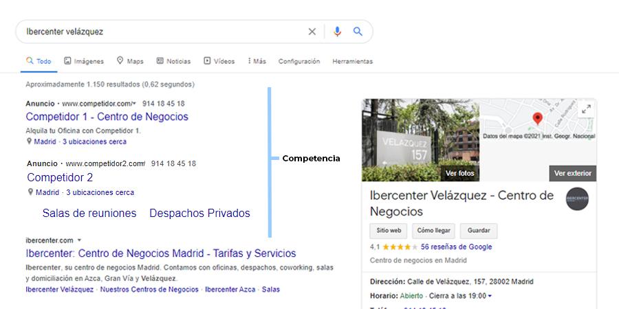 Con Google My Business evitas que la competencia te quite clientes potenciales