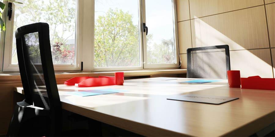 Nuestra mesa debe ser el centro de la organización en una oficina